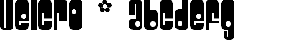 Preview image for Velcro Font