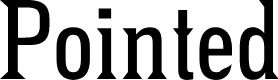 Preview image for Pointed Font