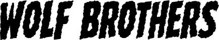 Preview image for Wolf Brothers Rotalic Font