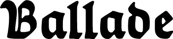 Preview image for Ballade Bold Font