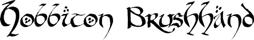 Preview image for Hobbiton BrushhandHobbiton brush Font
