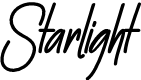 Preview image for Starlight Font