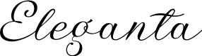 Preview image for Eleganta-Regular
