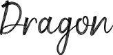 Preview image for Dragon Font