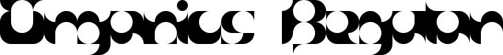 Preview image for Organics Regular Font