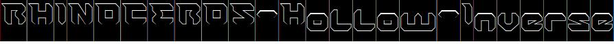 RHINOCEROS-Hollow-Inverse