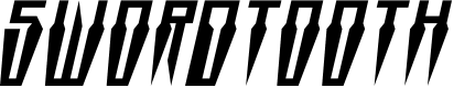 Preview image for Swordtooth Italic