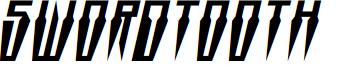 Swordtooth Italic