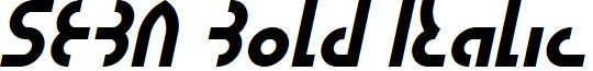 SEBA Bold Italic