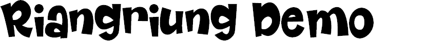 Riangriung by Gartype Studio