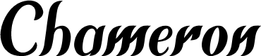 Preview image for Chameron  Font