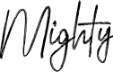 Preview image for Mighty Font