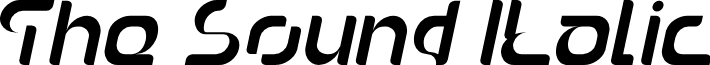 The Sound Italic