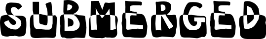 Preview image for Submerged Font