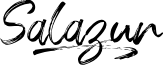 Salazur font