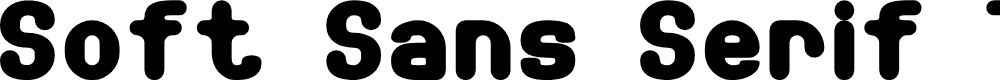 Preview image for Soft Sans Serif 7