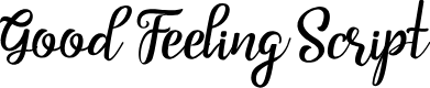 Preview image for Good Feeling Script Font
