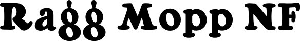 Preview image for Ragg Mopp NF Font