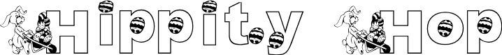 Preview image for KG Hippity Hop Font