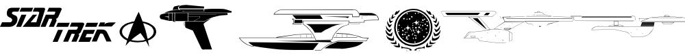 Preview image for Trekbats Regular Font