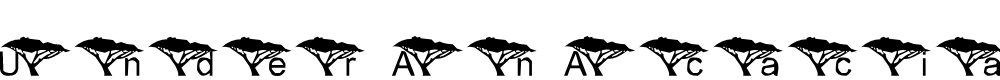 Preview image for LMS Under An Acacia Tree Font
