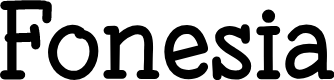 Preview image for Fonesia Font