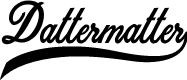 Preview image for Dattermatter Personal Use Regular Font