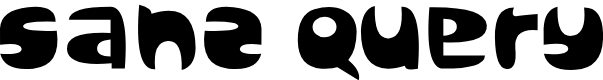 Preview image for Sanz Query Font