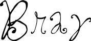 Preview image for Bray Font