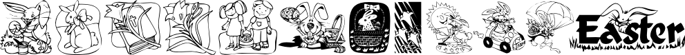 Preview image for KR Easter 2003 Font