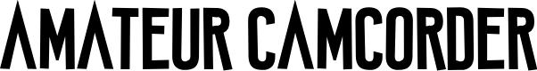 Preview image for Amateur Camcorder Font