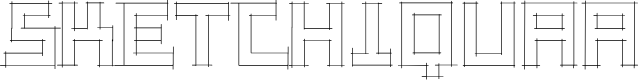 Preview image for SketchiquaA Font