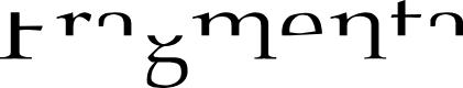 Preview image for Fragmenta Font