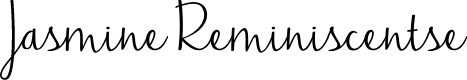 Preview image for Jasmine Reminiscentse Font