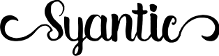 Preview image for Syantic Font