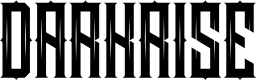 Preview image for DARKRISE FreeVersion Font