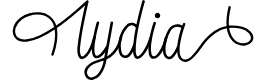 Preview image for lydia Font