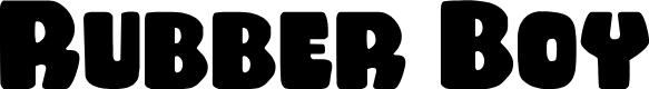 Preview image for Rubber Boy Regular Font