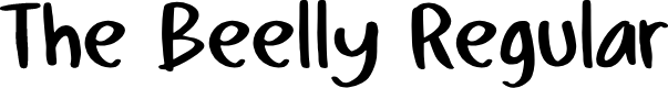 Preview image for The Beelly Regular Font