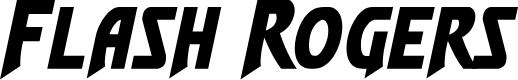 Preview image for Flash Rogers Font