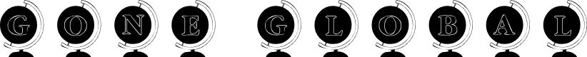 Preview image for 101! Gone Global Font