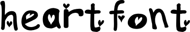 heartfont font