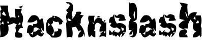 Preview image for Hacknslash Font