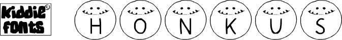 Preview image for HONKUS Medium Font