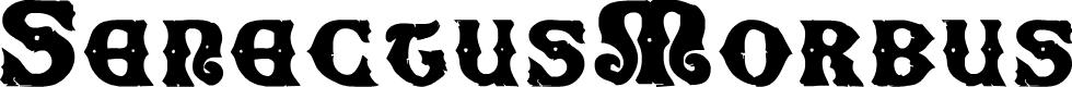 Preview image for SenectusMorbus Font