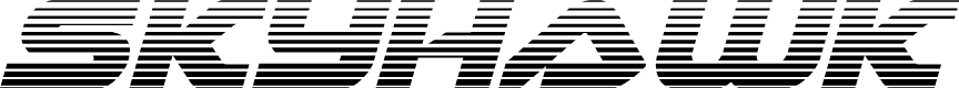 Preview image for Skyhawk Scanlines Italic