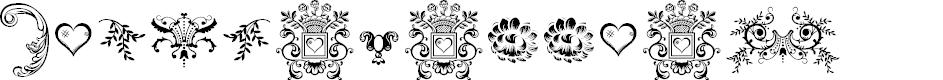 Preview image for Dingleberries Font
