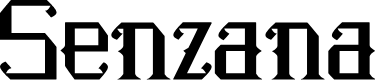 Preview image for Senzana Font