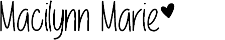 Preview image for Macilynn Marie Font