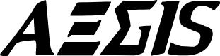 Preview image for Aegis Condensed Italic